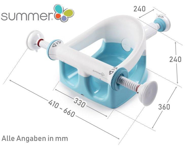 My Bath Seat Hochsicherheits Badesitz von Summer Infant
