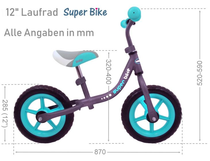 Maße Laufrad Superbike