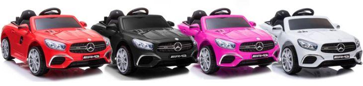 Mercedes SL63 Kinder Elektrofahrzeug Elektroauto