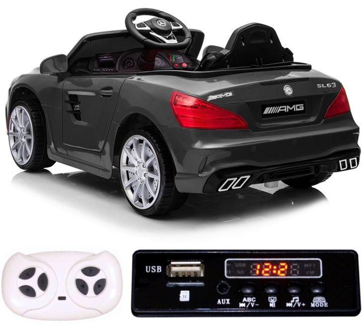 Elektro Auto Mercedes Benz SL63 für Kinder