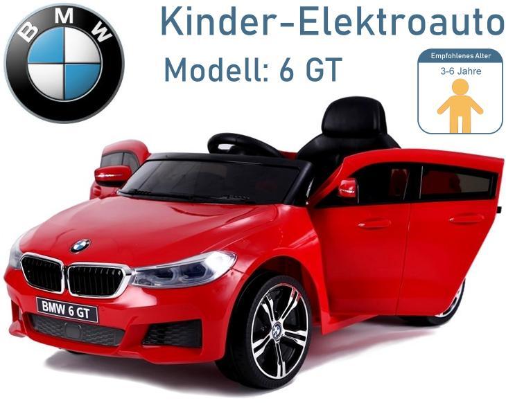 Kinder Elektrofahrzeug BMW 6 GT Elektroauto