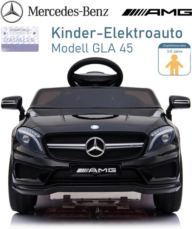 Kinder Elektrofahrzeug Mercedes Benz GLA 45 Elektroauto