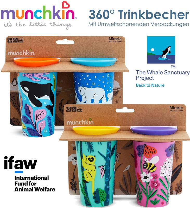 Munchkin Miracle Wildlove Doppelpack