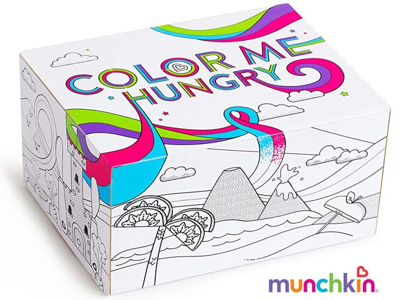 Munchkin Spalsh Colour me Hungry Ess-Lernset