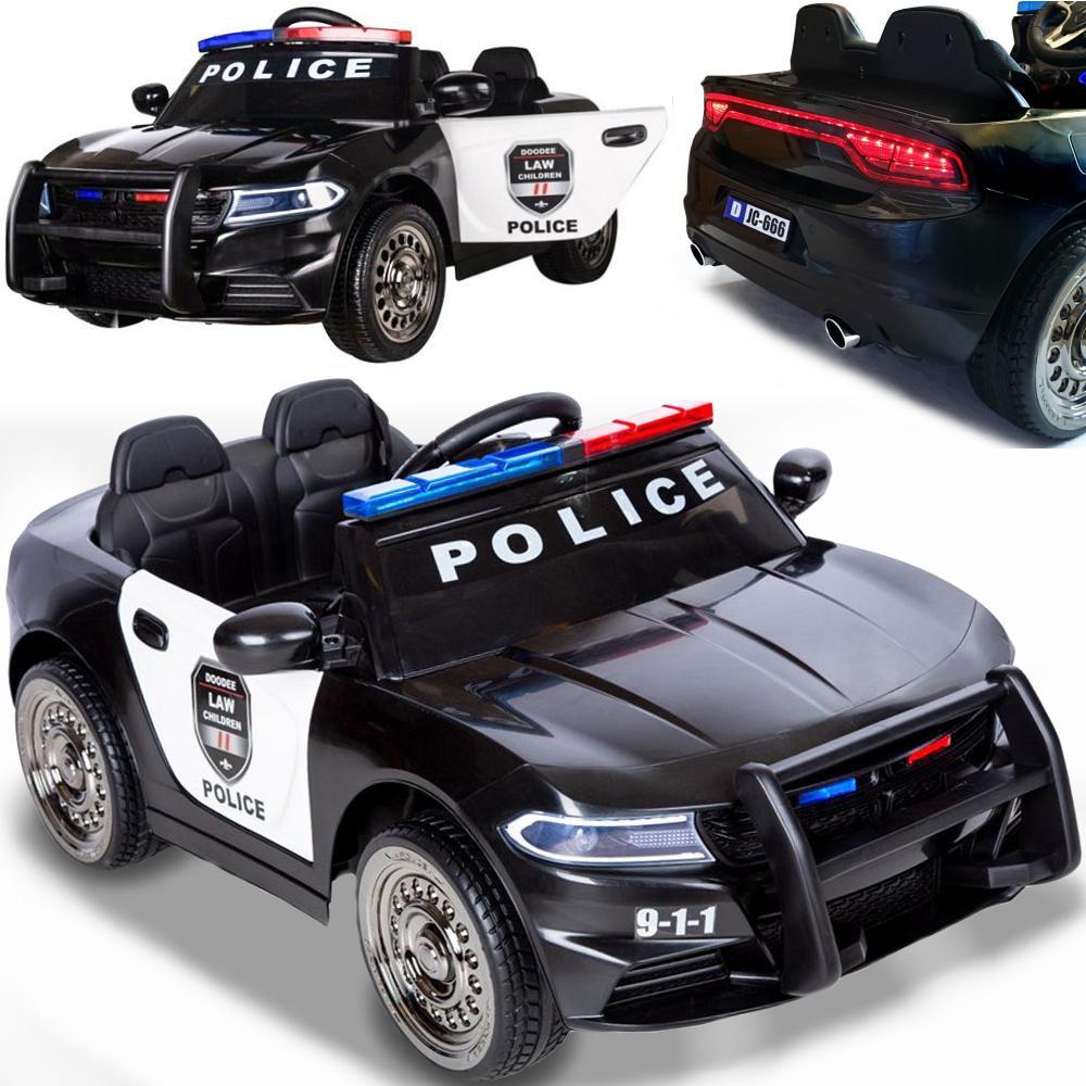 elektroauto für kinder elektrisches kinderauto polizei
