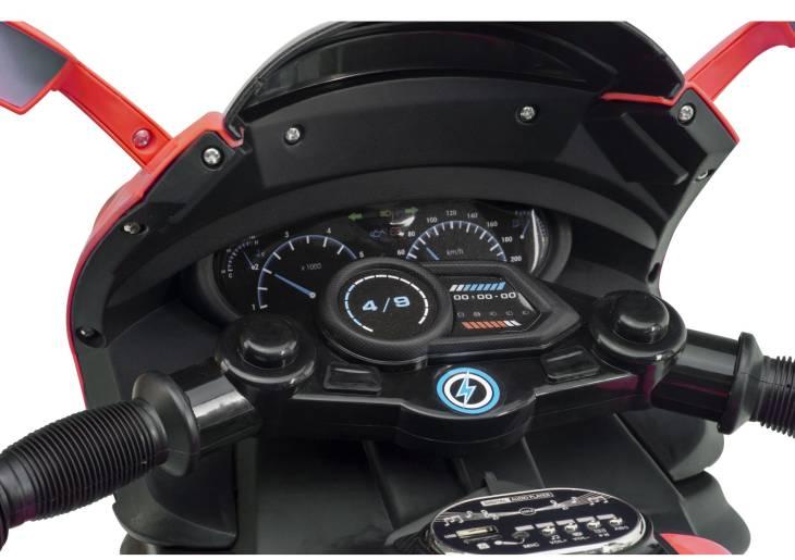 Elektrisches Motorrad für Kinder E-Trike 12V