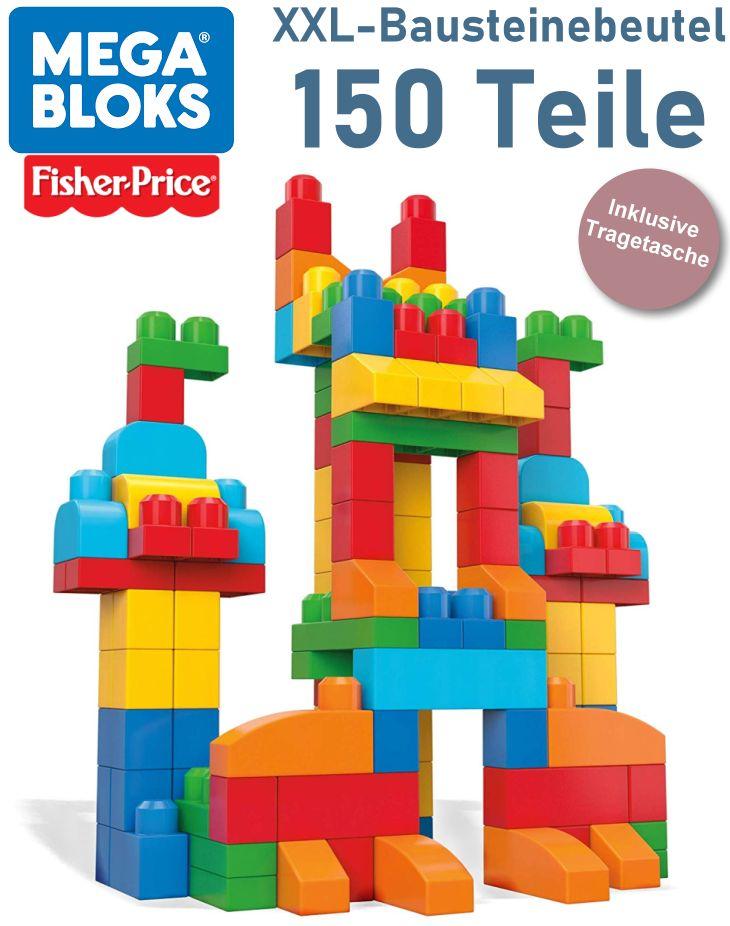Mega Bloks von Fisher-Price 150 Bausteine für Kleinkinder