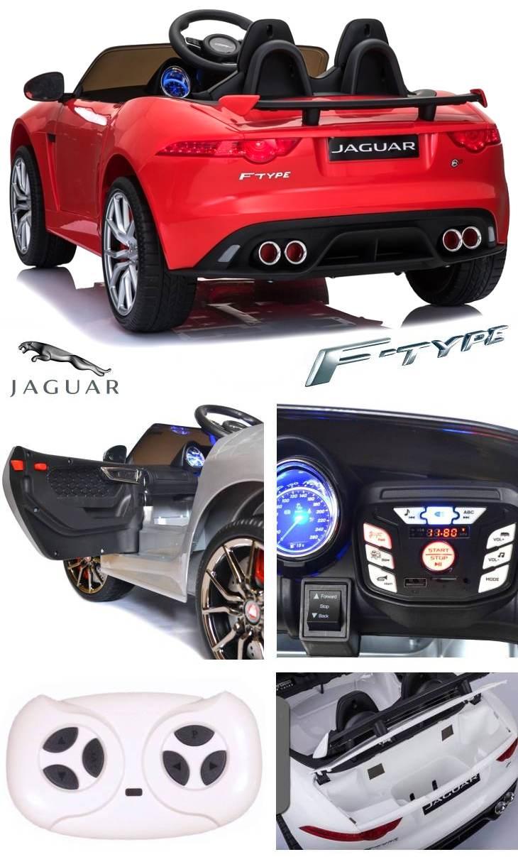 Elektro Auto Jaguar F-Type für Kinder Sonderedition