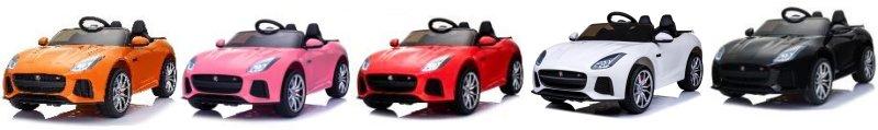 Kinder Elektrofahrzeug Jaguar F-Type Elektroauto EVA Ledersitz