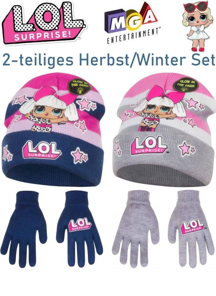 LOL Surprise Kinder Mütze Handschuhe