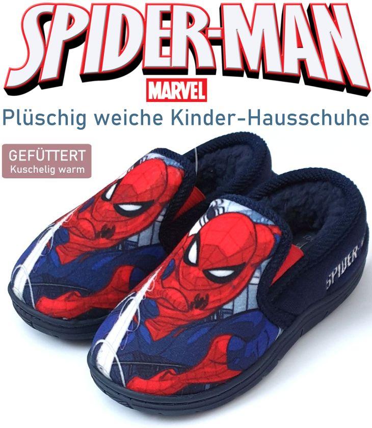 Kinder Hausschuhe Marvel Spiderman