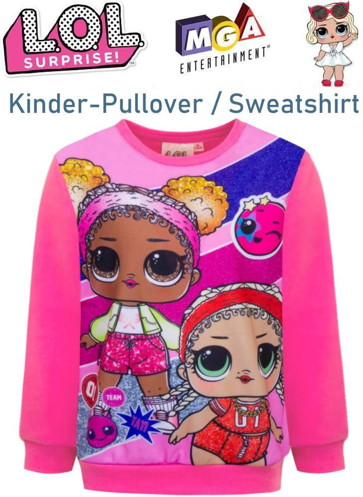 LOL Surprise Kinder Pullover Sweatshirt
