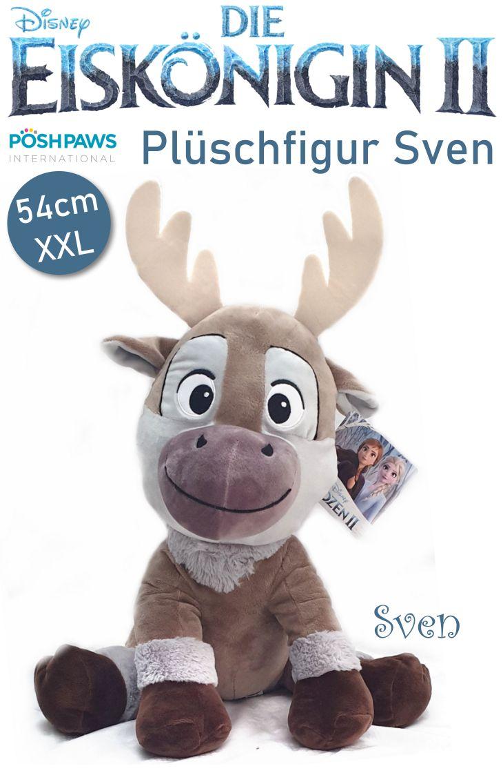 Die Eiskönigin Frozen Rentier Sven 54cm XXL Plüschtier