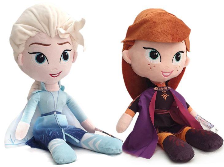 Die Eiskönigin Frozen 52cm XXL Plüschfigur Anna Elsa