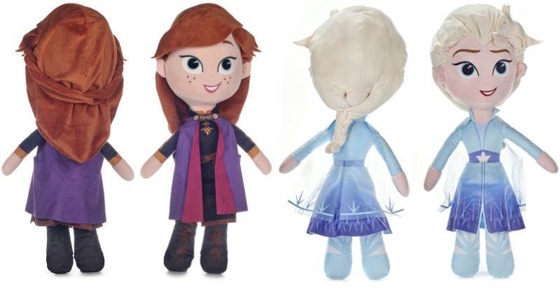 Die Eiskönigin Frozen Plüschfigur Anna Elsa XXL