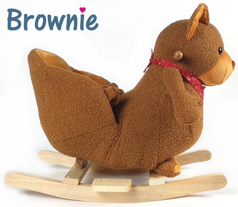 Baby Kleinkind Schaukeltier Bärchen Brownie