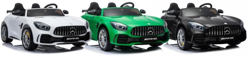 Kinder Elektroauto Zweisitzer Mercedes GTR