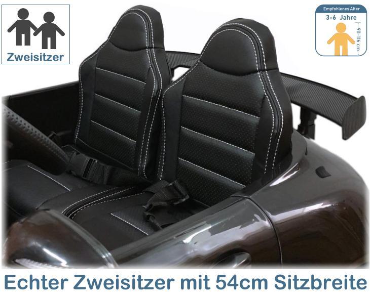 Mercedes GT-R Kinder Elektroauto Zweisitzer