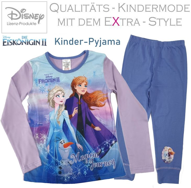 Die Eiskönigin 2 Frozen Kinder Pyjama Set