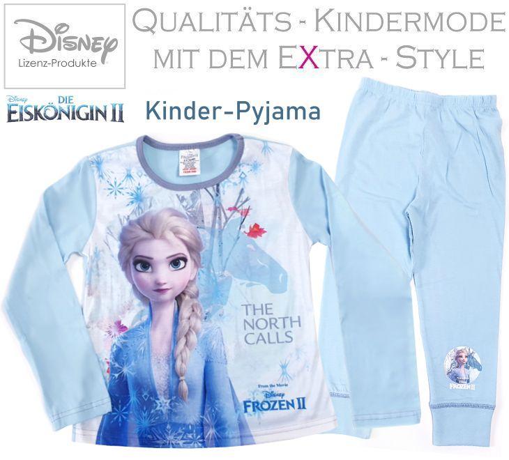 Die Eiskönigin 2 Frozen Kinder Pyjama Set
