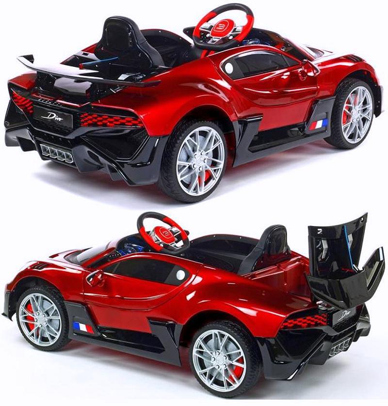 Elektrisches Kinderauto Bugatti Divo Lackiert