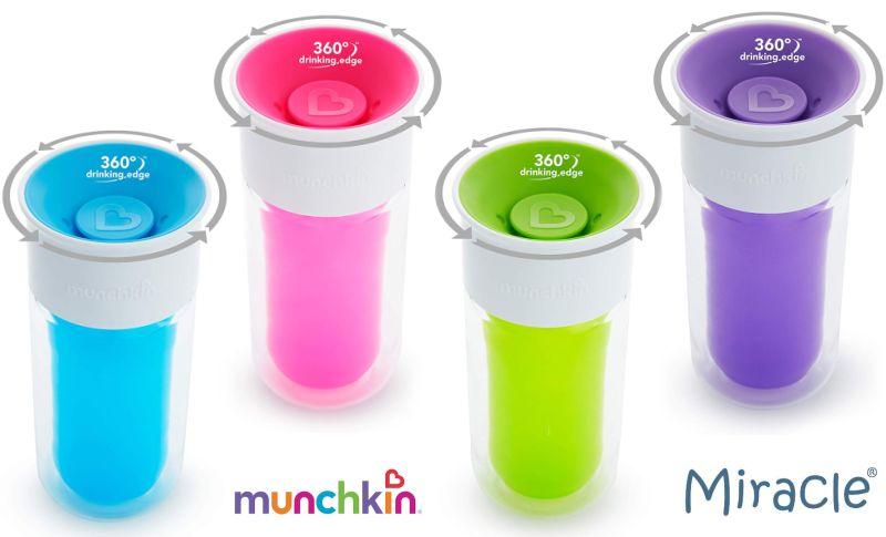 Munchkin Miracle 360° personalisierbarer Isolierbecher