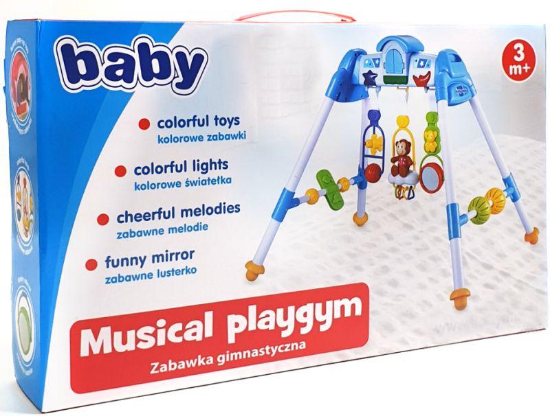 Baby Spielcenter Lux Trapez blau