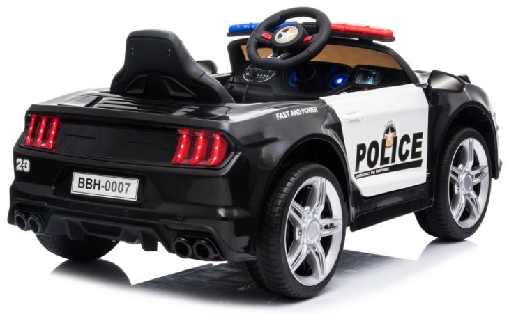 Kinder Elektrofahrzeug Police GT Polizei Elektroauto