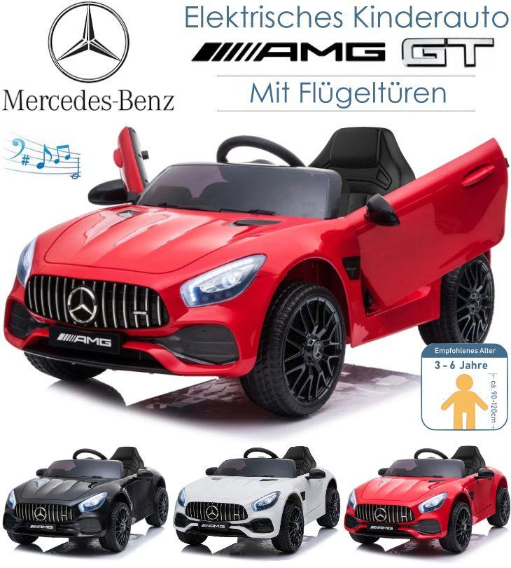 Kinder Elektrofahrzeug Mercedes Benz AMG GT Elektroauto