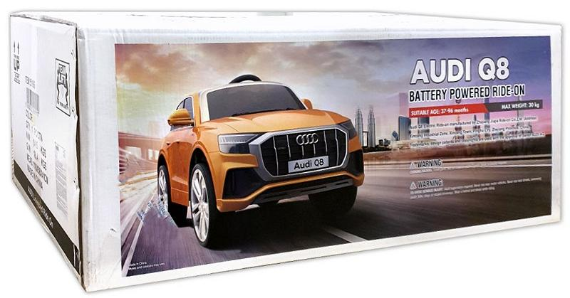 Elektrisches Kinderauto Elektrofahrzeug Audi Q8 Sonderedition