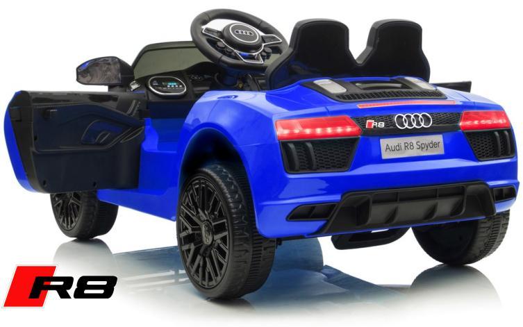 Elektro Auto Audi R8 Spyder für Kinder