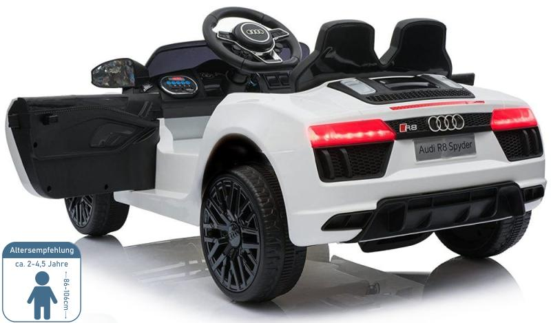 Elektro Auto für Kinder Audi R8 Spyder