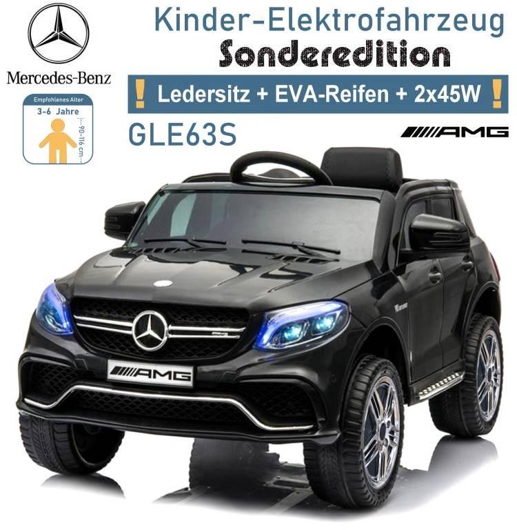 Kinder Elektrofahrzeug Mercedes Benz GLE 63S Elektroauto