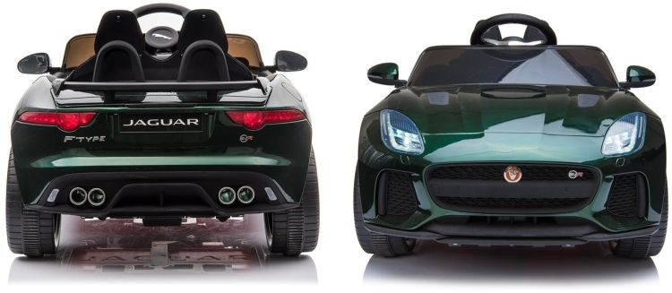 Elektro Auto Jaguar F-Type für Kinder lackierte Sonderedition