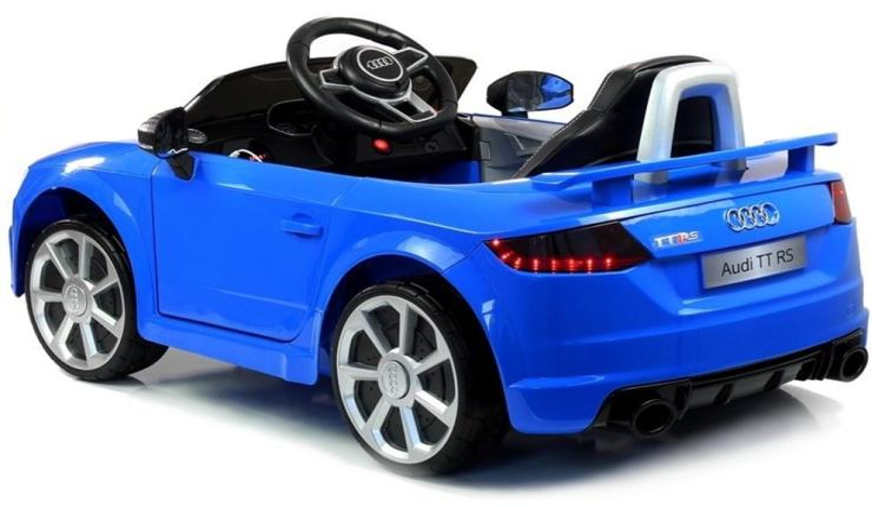 Elektro Auto Audi TT RS für Kinder