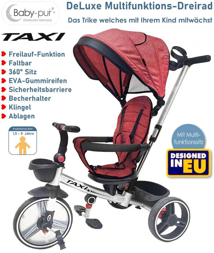 Baby-pur Schiebe-Dreirad Lux Trike