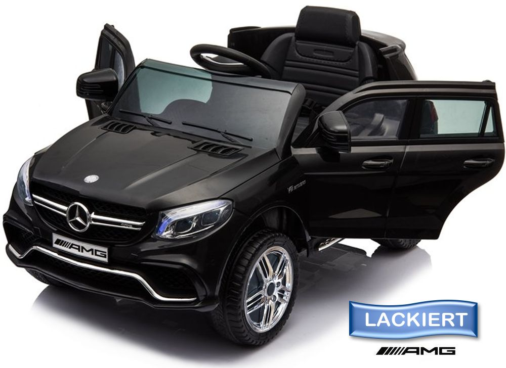 Elektro Auto Mercedes Benz GLE 63S für Kinder EVA Leder Lackierung
