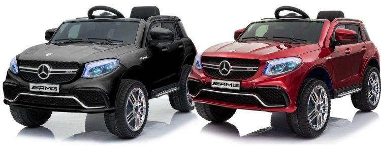 Sonderedition+ Elektro Auto Mercedes Benz GLE 63S für Kinder