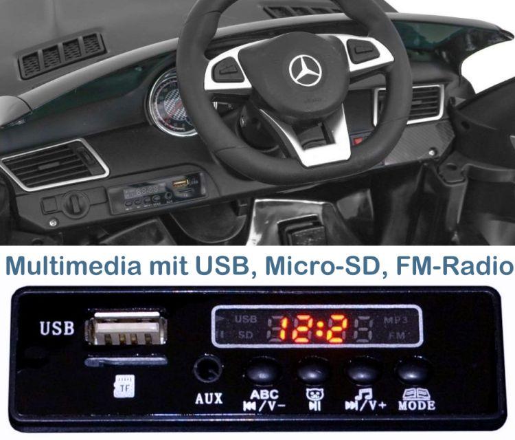 Elektro Auto Mercedes Benz GLE 63S für Kinder Sonderedition+