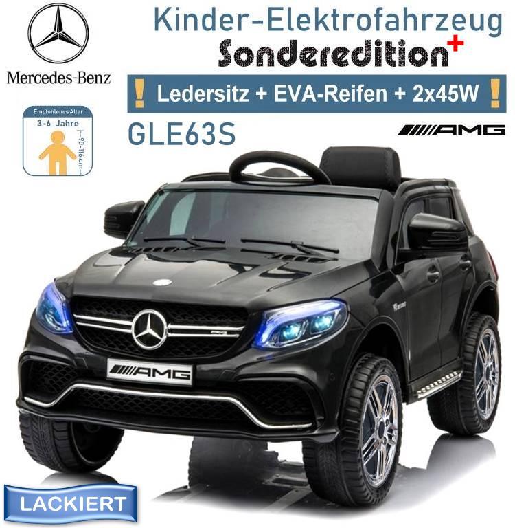Kinder Elektrofahrzeug Mercedes Benz GLE 63S Elektroauto Sonderedition-plus