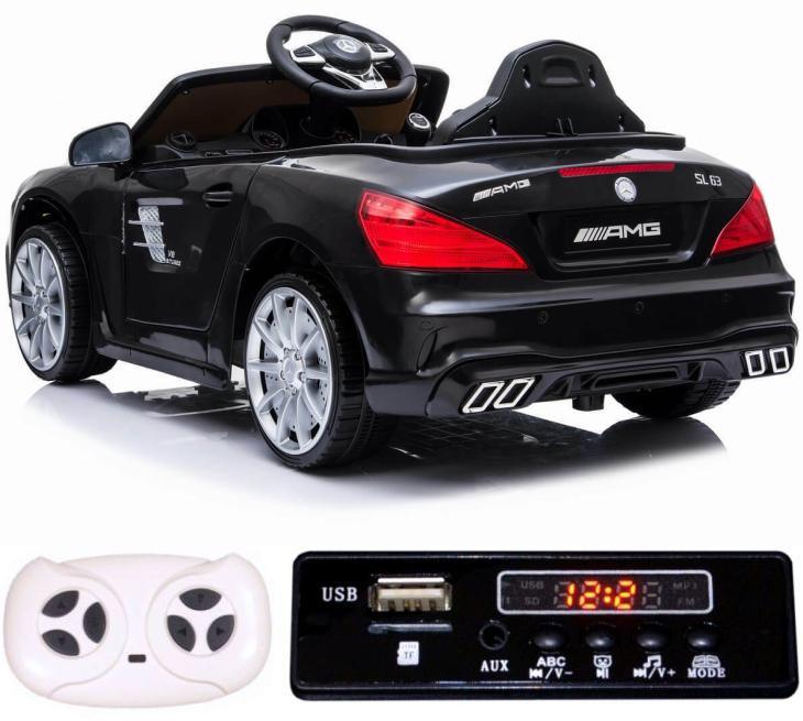 Sonderedition-plus Elektro Auto Mercedes Benz SL63 für Kinder