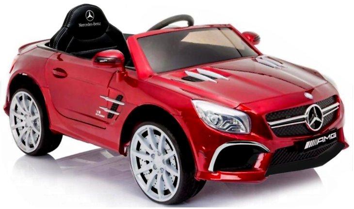 SE+ Elektro Auto für Kinder Mercedes SL63 Lackiert