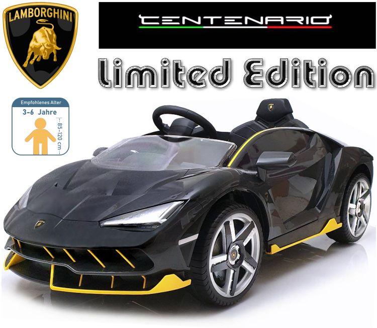 Kinder Elektrofahrzeug Lamborghini Centenario Elektroauto
