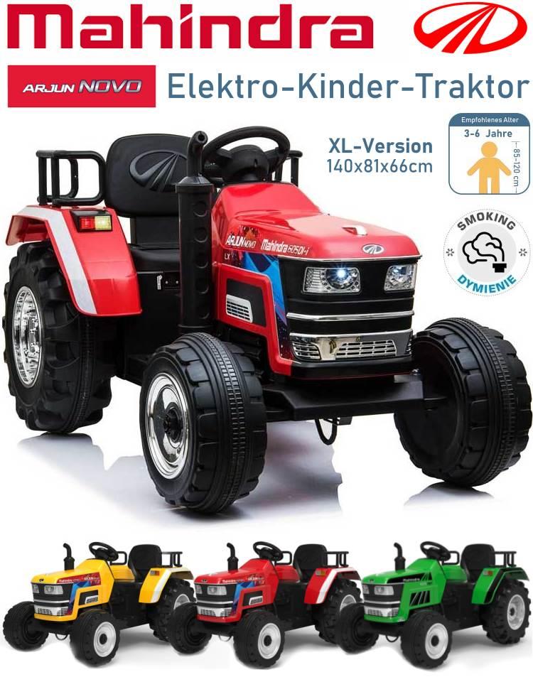 Mahindra Novo Elektrischer Kindertraktor