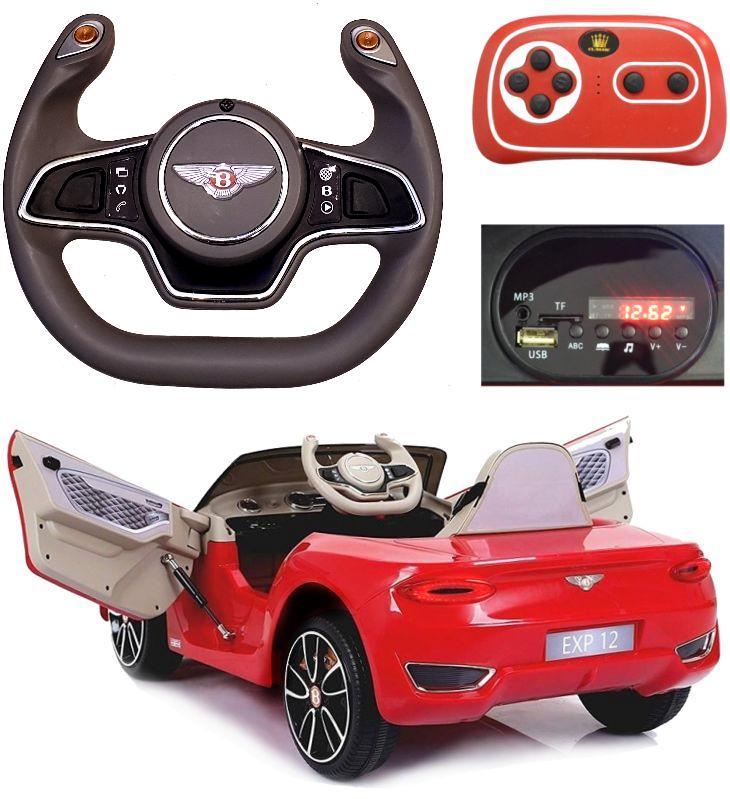 Elektro Auto Bentley EXP12 für Kinder