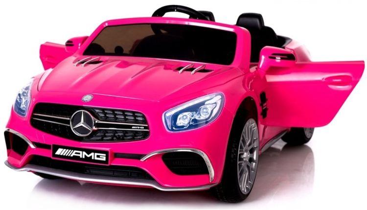 Elektro Auto für Kinder Mercedes SL65 inkl. LCD Videoplayer