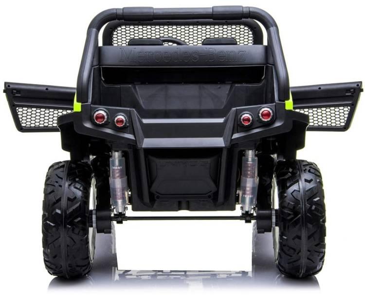 Elektroauto für Kinder Mercedes Benz Unimog Concept Zweisitzer
