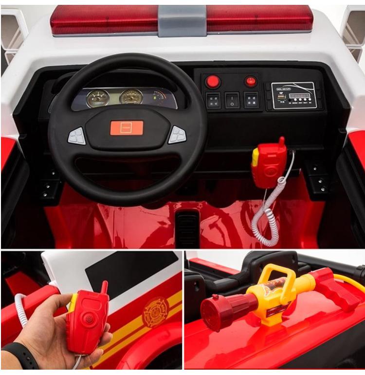 Elektroauto Feuerwehrauto für Kinder