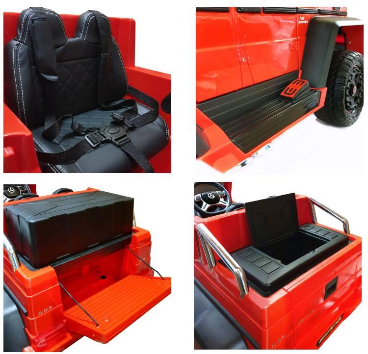 Elektroauto für Kinder Mercedes G63 6x6 XXL Sonderedition