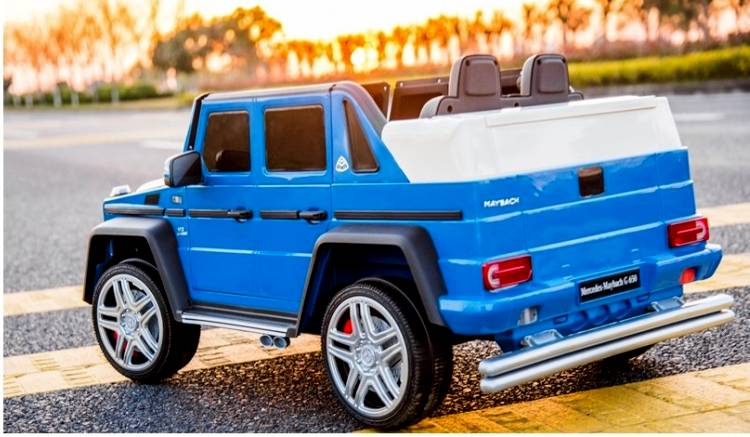 Elektroauto für Kinder Maybach Mercedes Benz G650 Landaulet Sonderedition